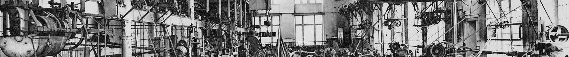 Les ateliers centraux de la mine à Montceau en 1927.  © CUCM, document Écomusée. Reproduction D. Busseuil.