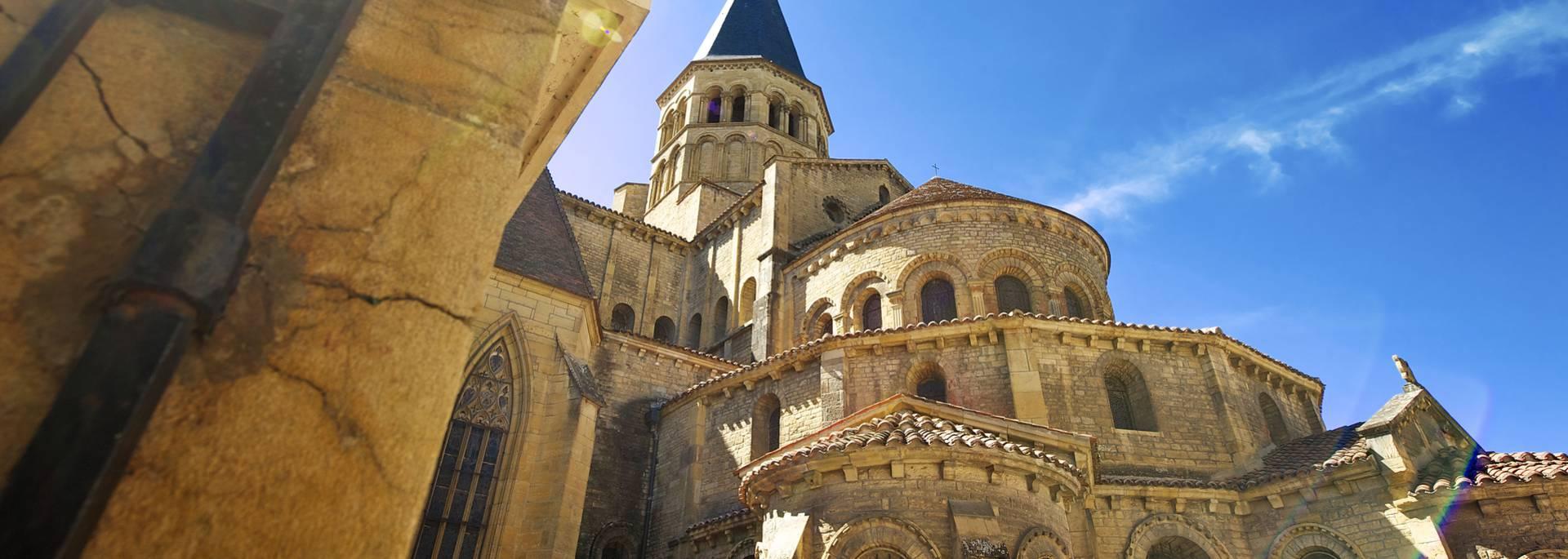 Basilique de Paray-le-Monial. © Pays Charolais-Brionnais, Olivier Champagne.