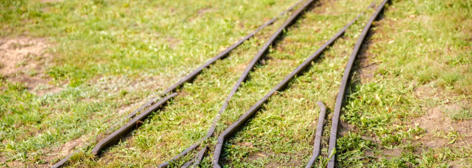 Les voies de transport sur le site de la Briqueterie, Ciry-le-Noble. © Franck Juillot.