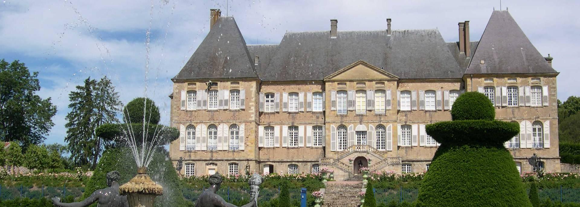 Le château de Drée, à Curbigny, près de La Clayette. © Château de Drée.