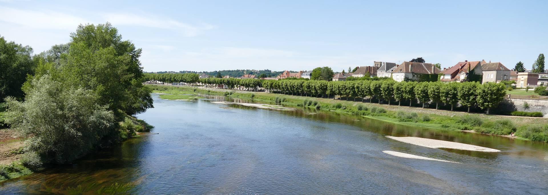 En bord de Loire à Digoin. © DSL, Sandrine Guênerie.