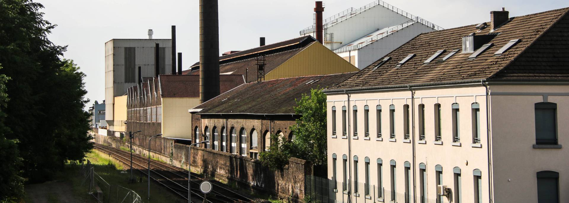 Le site industriel du Creusot. © Lesley Williamson.