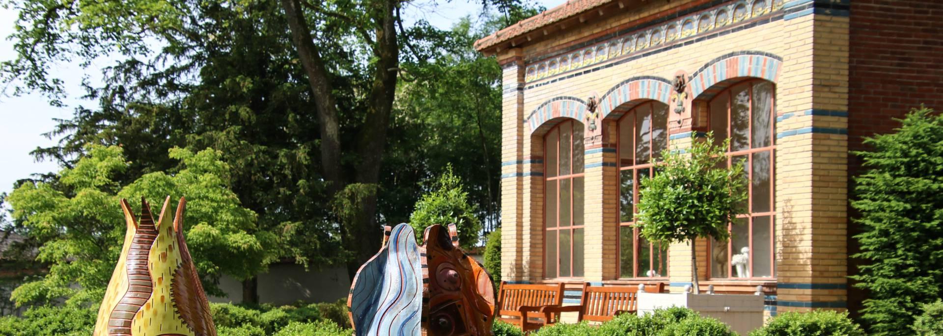 Orangerie de la Villa Perrusson, Écuisses. © Lesley Williamson.