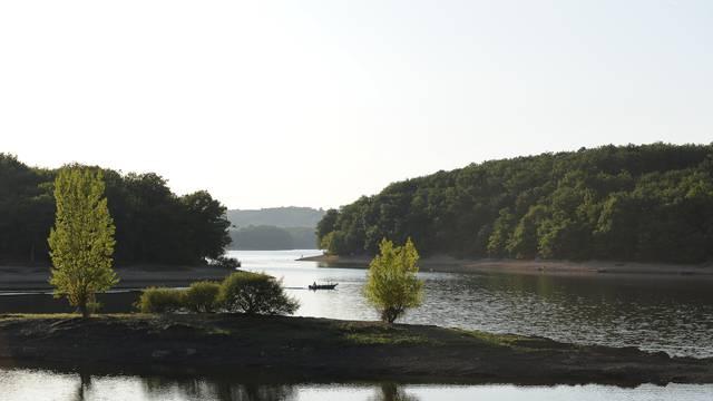 Paysage du lac de Montaubry, Le Breuil. © Bruno Le Hir de Fallois.