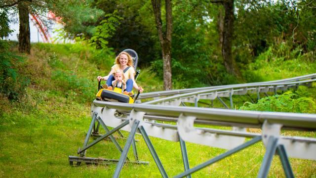 The Parc des Combes amusement park