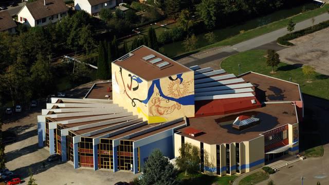 Vue de l'Embarcadère, Montceau-les-Mines © Mairie de Montceau, service communication.