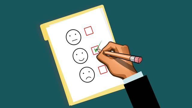 Questionnaire de satisfaction.