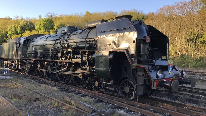 Découverte de la locomotive 241 P 17, Le Creusot / 45 min env.