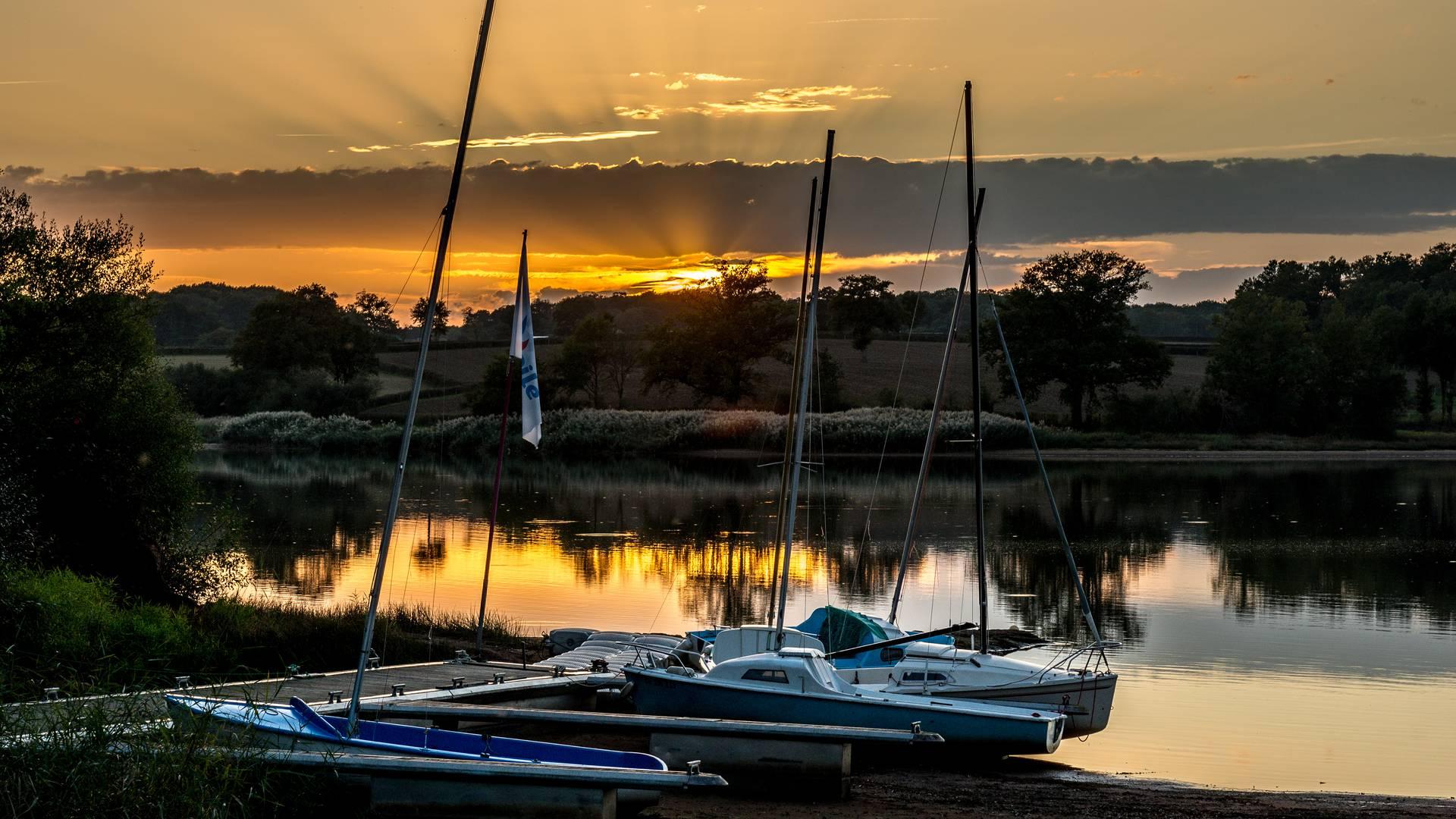 Lac de la Sorme. © Oscara Photographe, Creusot Montceau Tourisme.