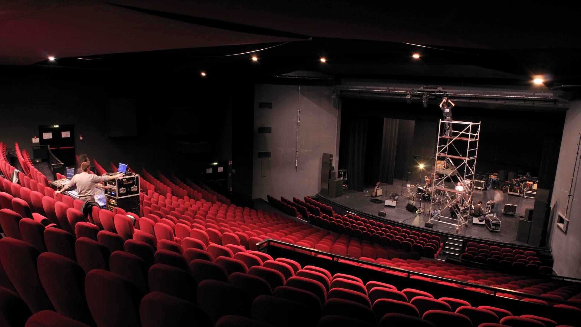Le grand théâtre de L'arc - scène nationale, Le Creusot. © L'arc - scène nationale le Creusot.