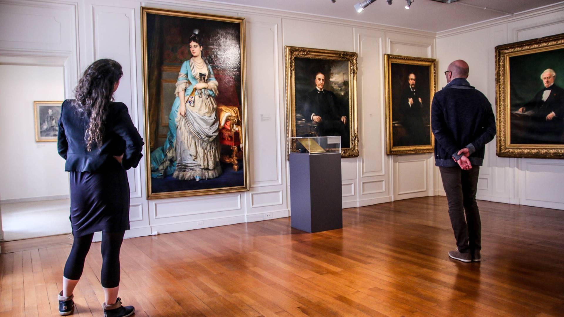 En visitant le Musée de l'homme et de l'industrie, Le Creusot. © Lesley Williamson.