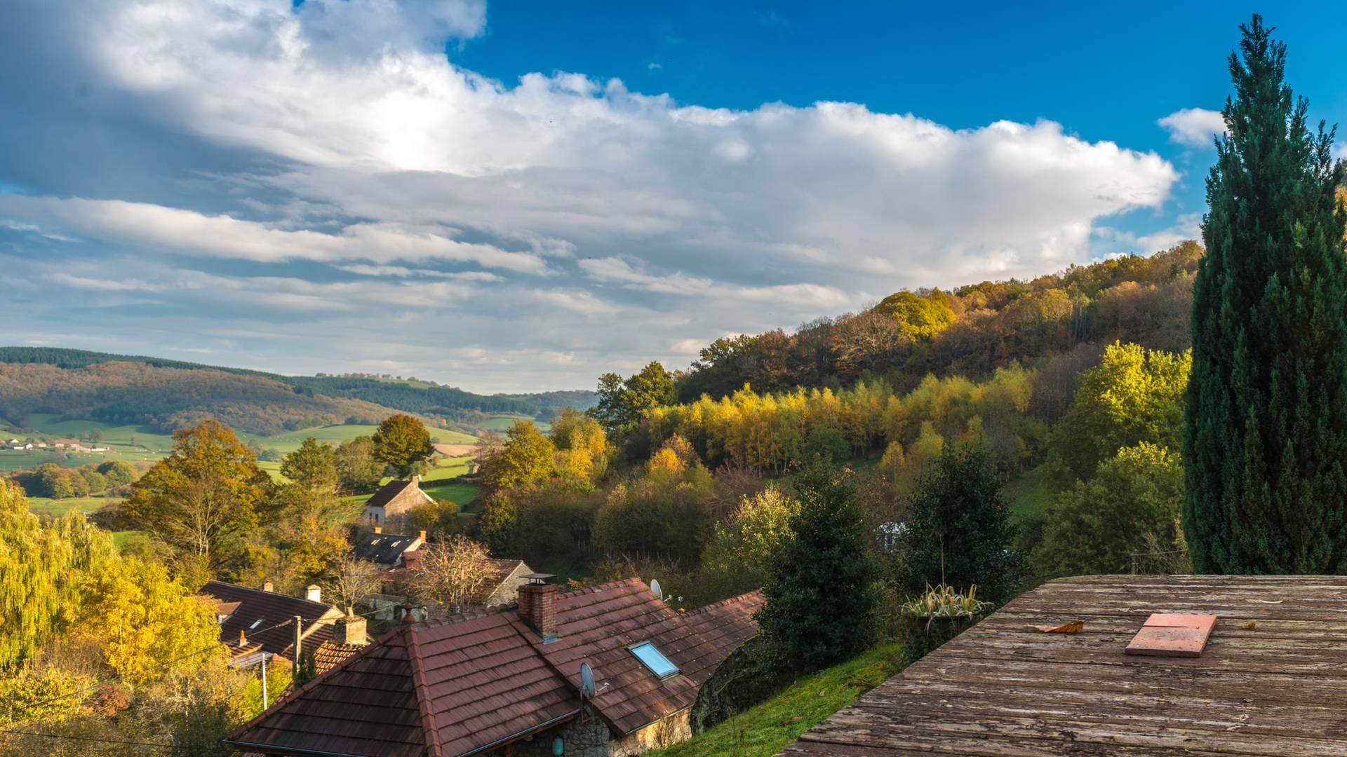 Paysage de la vallée du Mesvrin. © Oscara Photographe, Creusot Montceau Tourisme.
