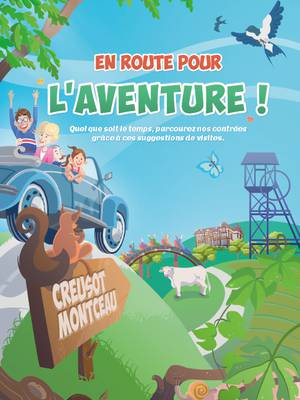 """Couverture brochure En route pour l""""aventure."""