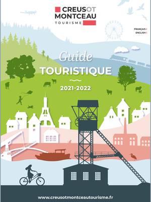 Couverture guide touristique 2021-2022. © Creusot Montceau Tourisme.
