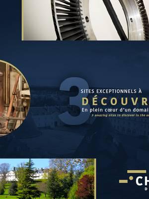 Couverture du dépliant du site du château de la Verrerie. © Creusot Montceau Tourisme.