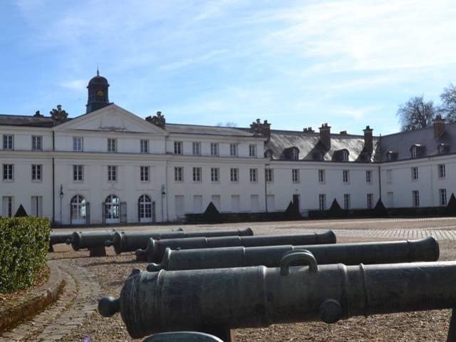 Château de la Verrerie, vue de la cour d'honneur, Le Creusot. © Creusot Montceau Tourisme.
