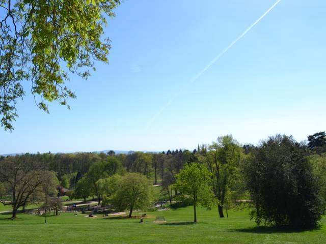 Le parc de la Verrerie, Le Creusot. © Creusot Montceau Tourisme.