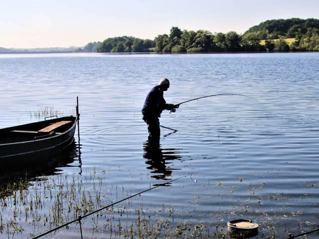 Le paradis des pêcheurs. © Lesley Williamson.