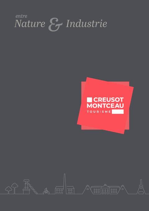 Entre Nature & Industrie, brochure séduction de Creusot Montceau Tourisme. © Creusot Montceau Tourisme.