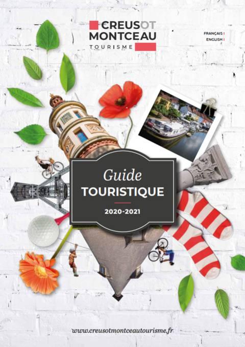 Couverture guide touristique 2020. © Creusot Montceau Tourisme.