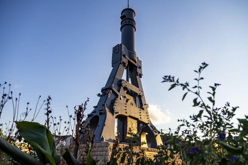 Le Creusot, le Marteau Pilon. © Lesley Williamson.