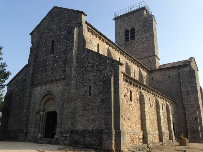 Église de Gourdon. © Creusot Montceau Tourisme.