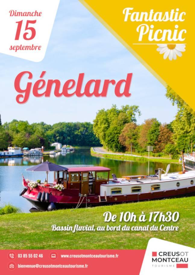 Fantastic Picnic à Génelard. © Creusot Montceau Tourisme.