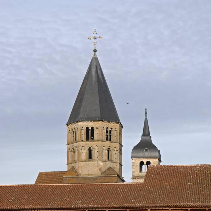 L'abbaye de Cluny. ® Ph. Berthé, CMN, Paris.