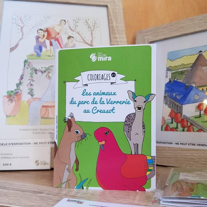 Exemple de produits en boutique. © Creusot Montceau Tourisme.