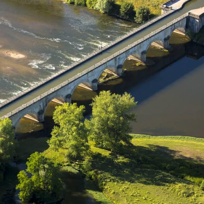 Le pont-canal de Digoin. © DSL, Aurélien Ibanez - Bourgogne Live Prod.
