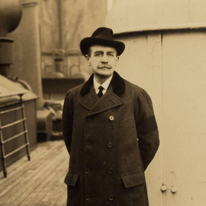 Eugène II Schneider (1868-1942). © CUCM, document Écomusée, reproduction D. Busseuil.
