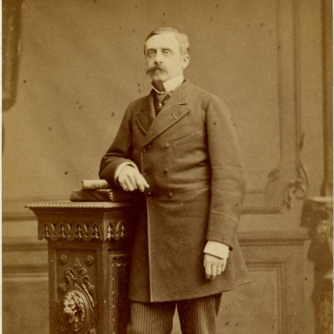 Henri Schneider (1840-1898). © CUCM, document Écomusée, reproduction D. Busseuil.