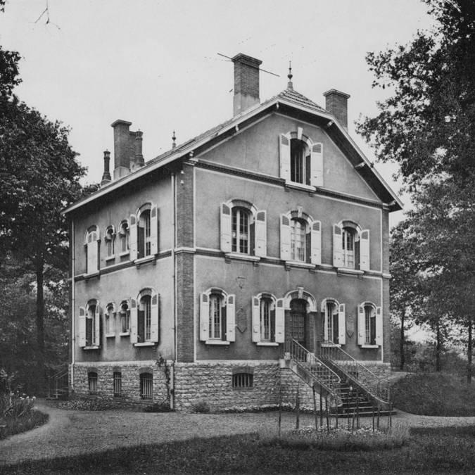 Exemple de maison d'ingénieur en 1927. © CUCM, document Écomusée, reproduction D. Busseuil.