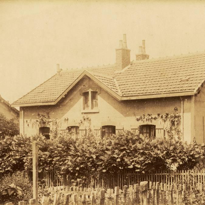 Exemple de maison avec deux logements en 1894. © CUCM, document Écomusée, reproduction D. Busseuil.