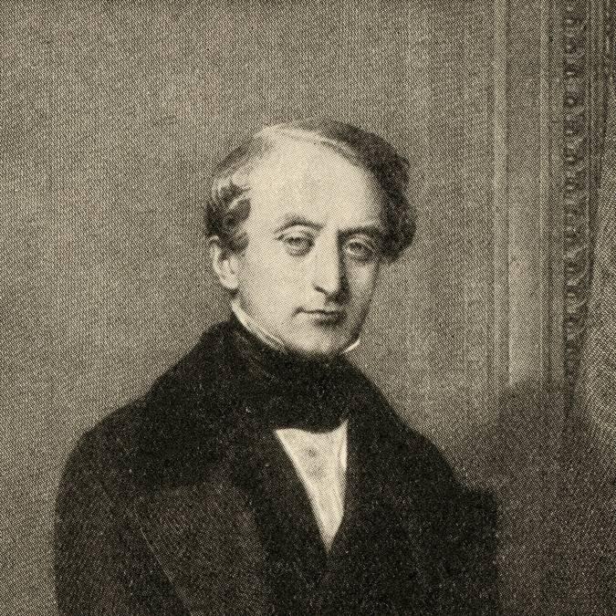 """Portrait de Joseph Eugène Schneider, dit """"Eugène 1er"""" (1805-1875). © CUCM, document Écomusée, reproduction D. Busseuil."""