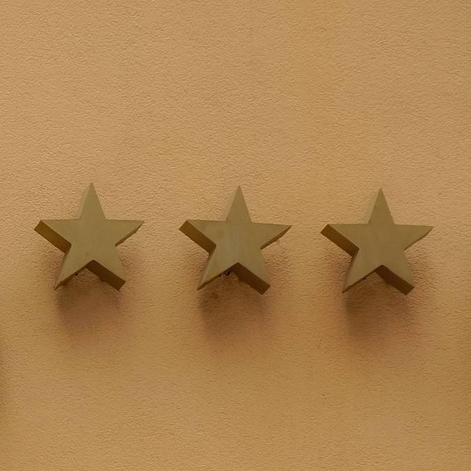 Hôtel, étoile. © Taken, Pixabay.